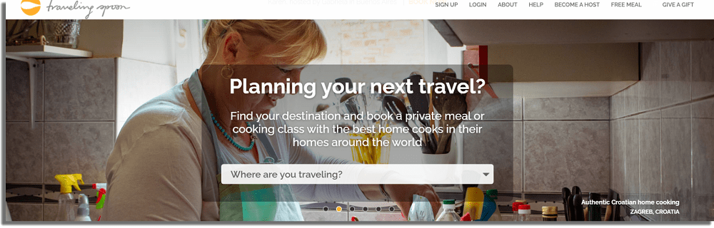 Traveling Spoon Hacer dinero extra