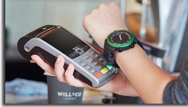 apps de relógio smartwatch google pay