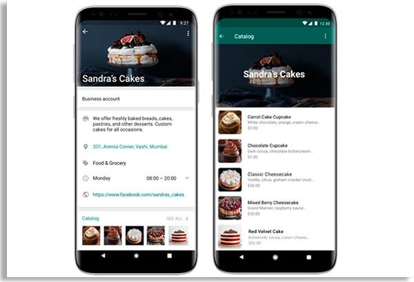 catalogo de produtos no app