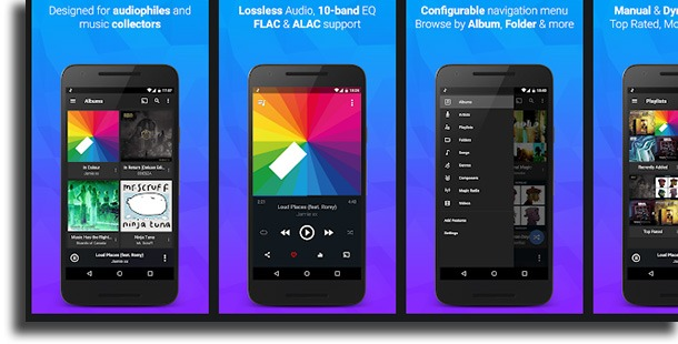 DoubleTwist Music Player best Android music players