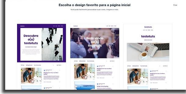 design no wix