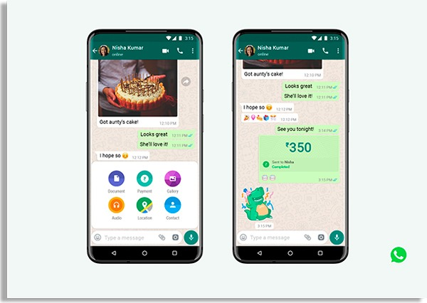 telas mostrando o que é o WhatsApp empresarial