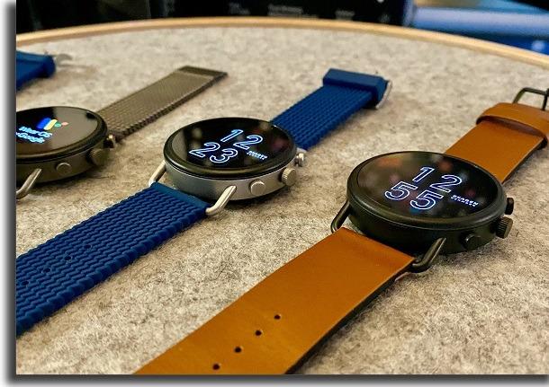 relógio smartwach skagen