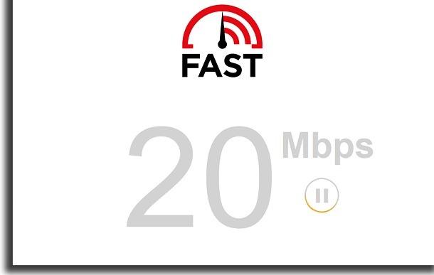 testar a velocidade da internet alternativa