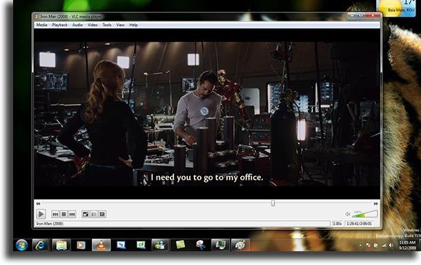 VLC Media Player iptv giocatori