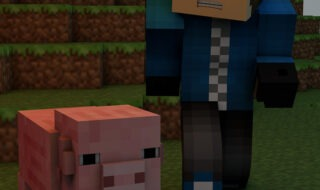 Cover Minecraft Nether Portal