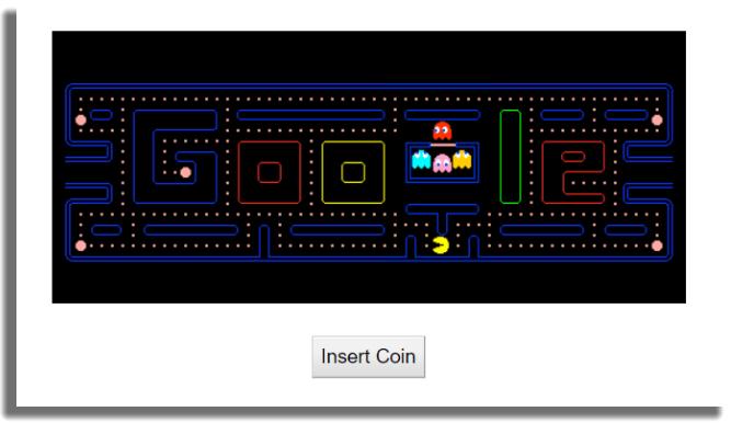 Pac-Man Doodle de Google