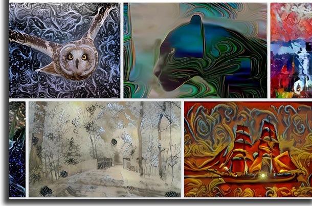 fotos em desenhos dreamscape