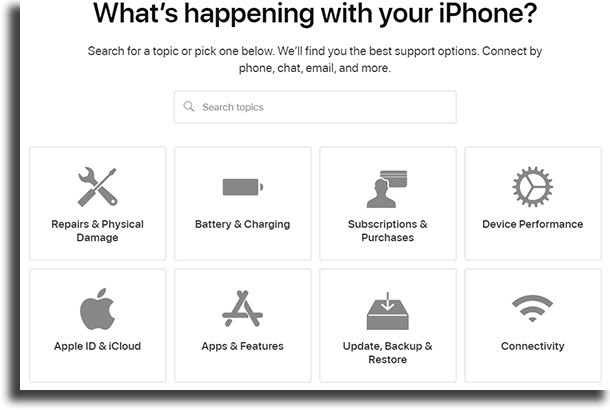 Contact Apple support iPhone keeps shutting off