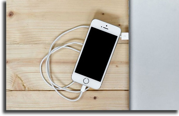 Plug it into a charger iPhone keeps shutting off