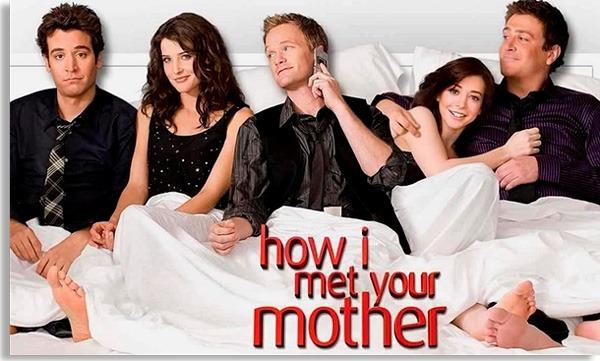 ilustração promocional de how i met your mother