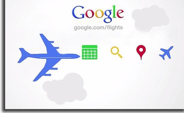 usar o google voos