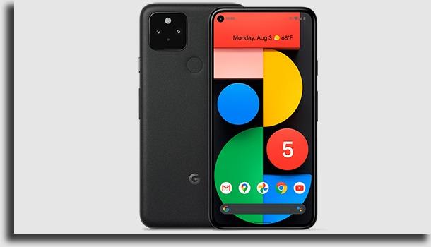 Google Pixel 5 mejores celulares 5G