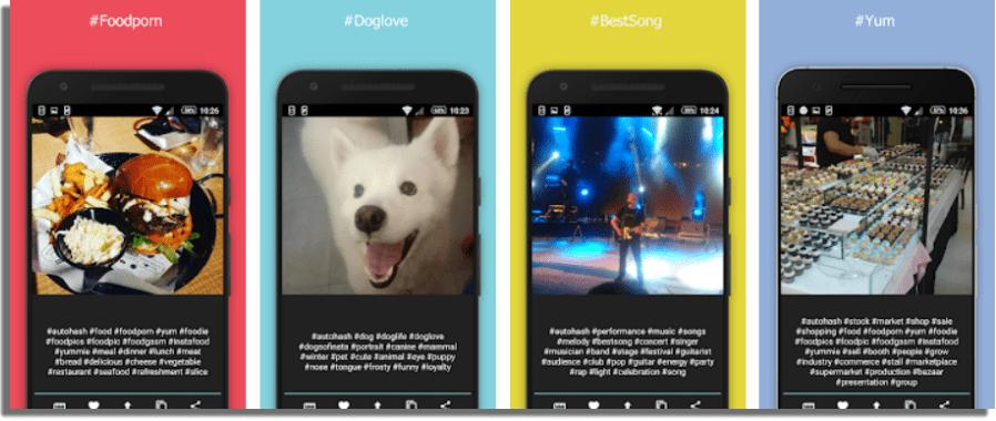AutoHash herramientas para buscar los mejores hashtags de Instagram