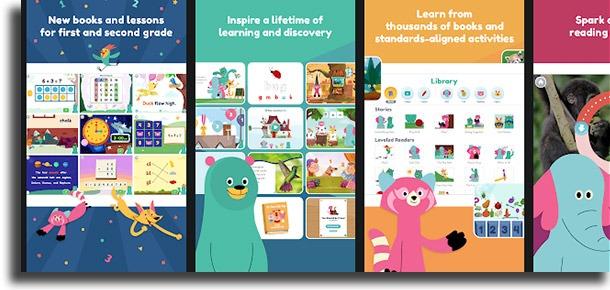 Khan Academy Kids: Free educational games & books best mobile kids games