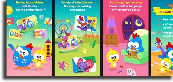 Lottie Dottie Chicken Official best mobile kids games