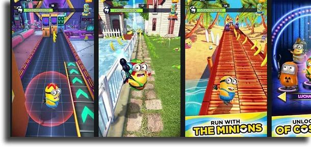 Minion Rush best mobile kids games