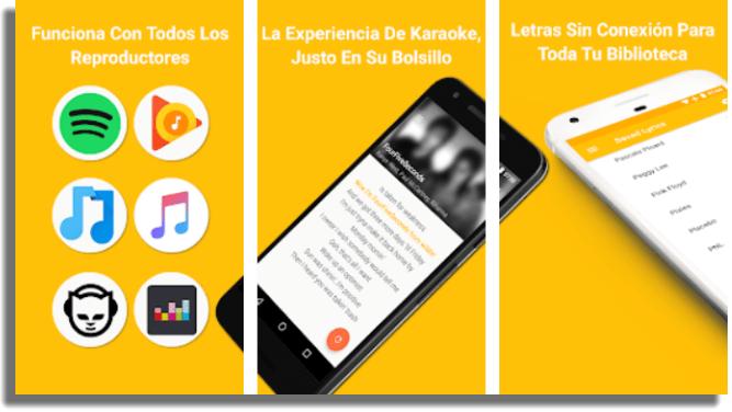 QuickLyric apps para saber las letras de canciones