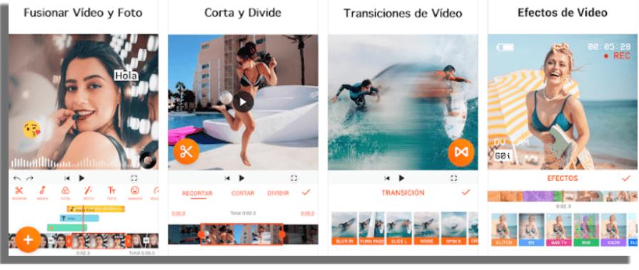 YouCut aplicaciones para unir fotos y videos
