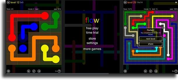 Flow Free best offline iPhone games