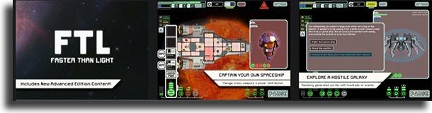 FTL: Faster Than Light best offline iPhone games