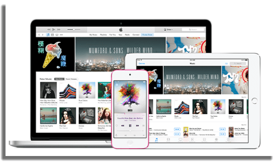 iTunes reproductores de video para PC
