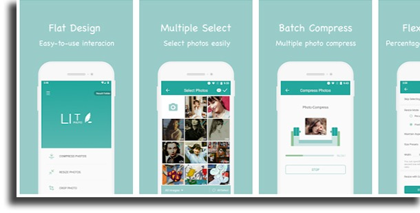Photo Compress & Resize - Lit Photo apps to resize images