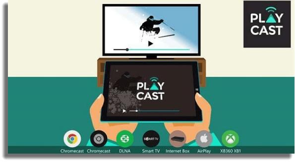 Playcast reproductores de video para PC