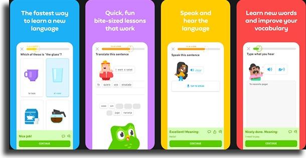 Duolingo best study apps