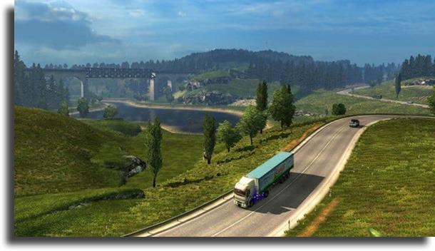 Euro Truck Simulator 2 best laptop games