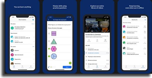 Khan Academy best study apps