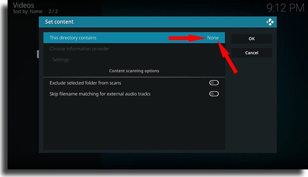 This directory contains use Kodi on Android