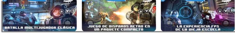 N.O.V.A Legacy Juegos offline para iPhone