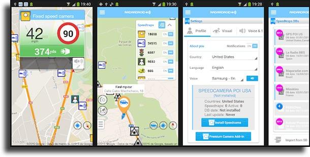 Radardroid Lite best radar detector apps