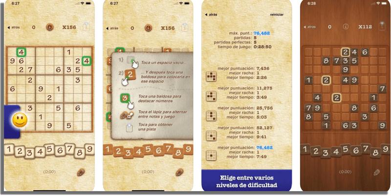 Sudoku Juegos offline para iPhone