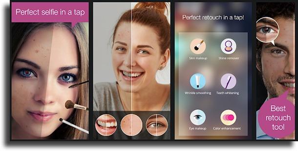 Visage Lab best teeth whitening apps