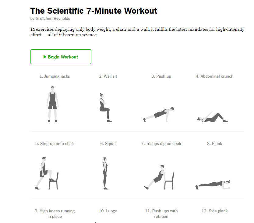 7-Minute Workout best fitness apps