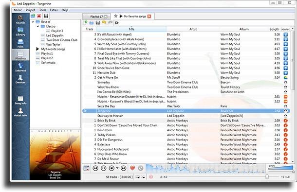 Clementine reproductores de música para Windows