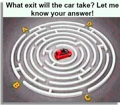 Exit the maze fun WhatsApp games