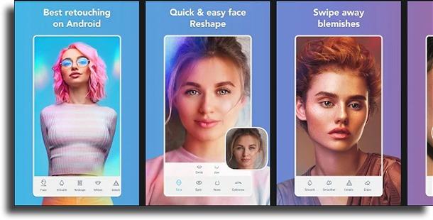 Facetune2 best teeth whitening apps