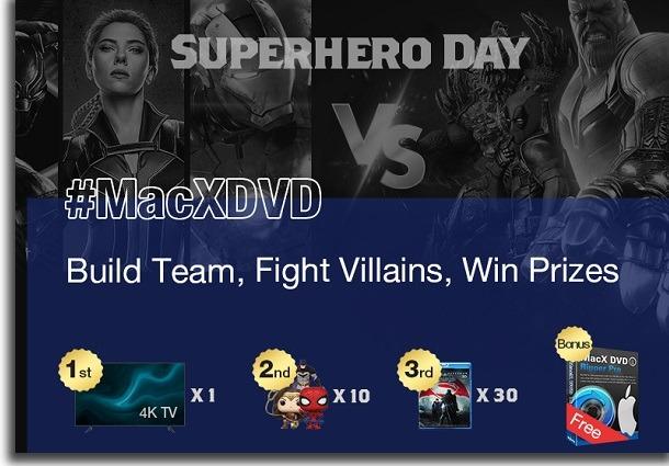 macX dvd ripper evento