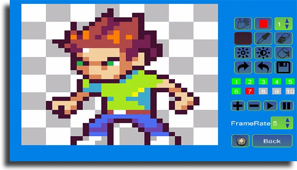 Pixel Animator best Android GIF maker apps