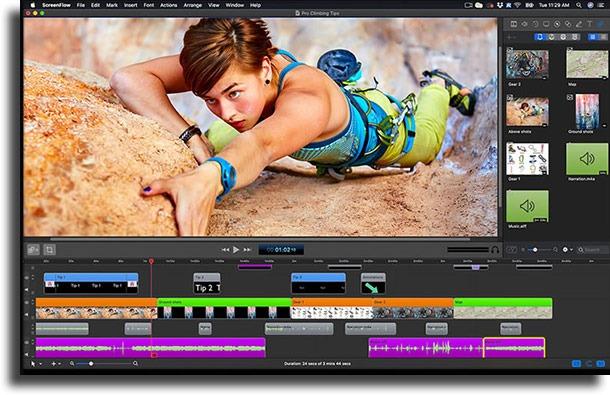 ScreenFlow best MacBook Pro apps