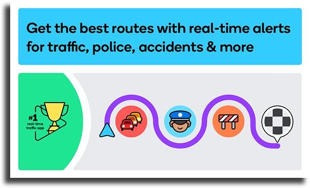 Waze best radar detector apps