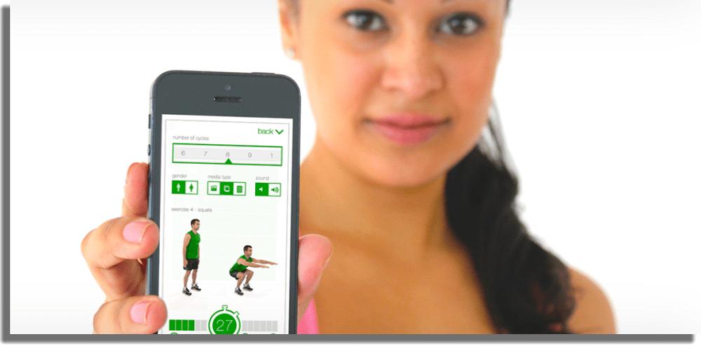 7-Minute Workout aplicaciones de fitness