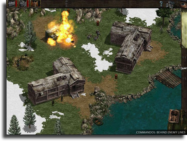Commandos: Behind Enemy Lines best strategy games on pc