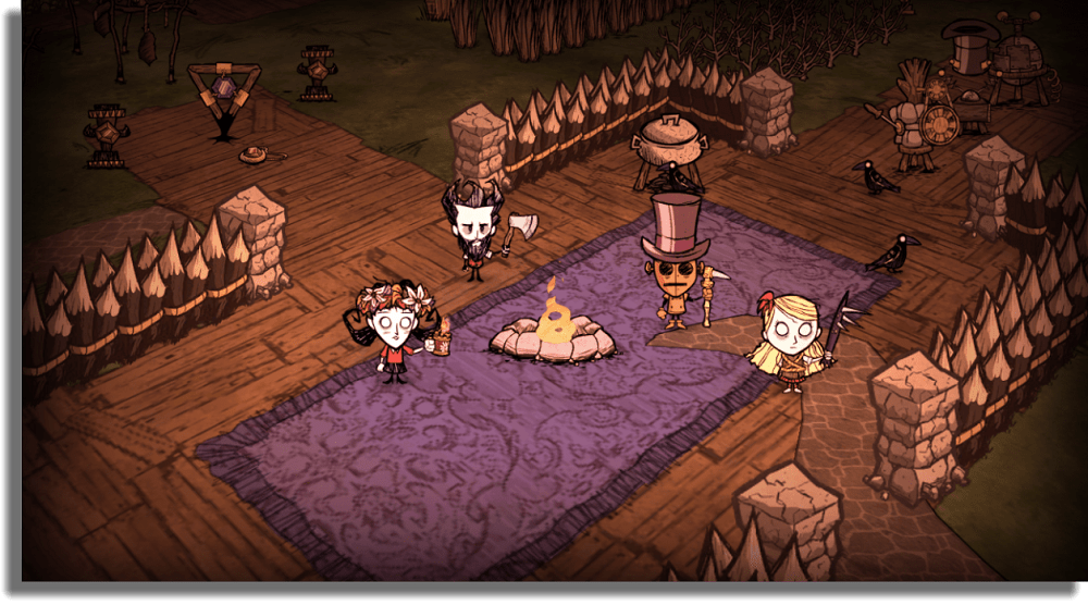 Don't Starve Together juegos cooperativos