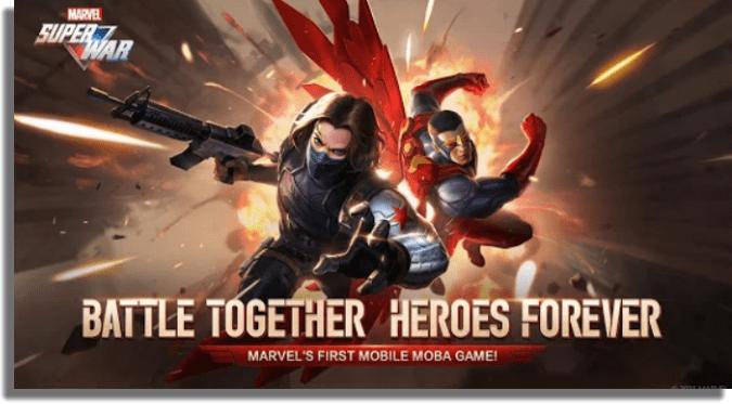 MARVEL Super War juegos MOBA iOS Android