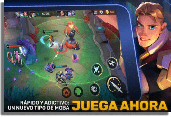 Planet of Heroes juegos MOBA iOS Android