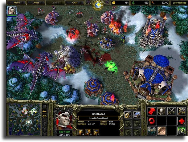 Warcraft III best strategy games on pc